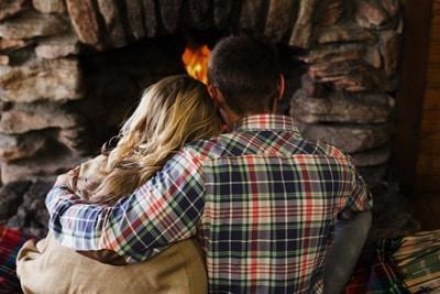 fireplace date ideas